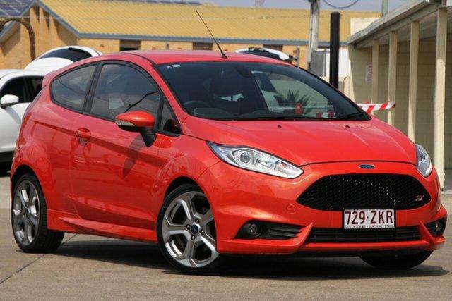 Used Ford Fiesta WZ MY15 ST, 2015 Ford Fiesta WZ MY15 ST Orange 6 Speed Manual Hatchback