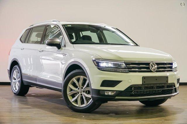 Demo Volkswagen Tiguan 5N MY19.5 132TSI Comfortline DSG 4MOTION Allspace, 2019 Volkswagen Tiguan 5N MY19.5 132TSI Comfortline DSG 4MOTION Allspace White 7 Speed