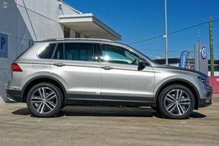 2019 Volkswagen Tiguan 5N MY20 162TSI Highline DSG 4MOTION Allspace Silver 7 Speed