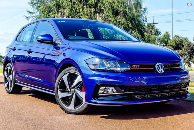 Demo Volkswagen Polo AW MY19 GTI DSG, 2019 Volkswagen Polo AW MY19 GTI DSG Blue 6 Speed Sports Automatic Dual Clutch Hatchback