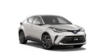 2020 Toyota C-HR ZYX10R Koba E-CVT 2WD Crystal Pearl 7 Speed Constant Variable Wagon Hybrid.