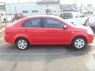 2008 Holden Barina TK MY08 Red 5 Speed Manual Sedan.