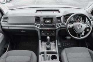 2019 Volkswagen Amarok 2H MY19 TDI550 4MOTION Perm Sportline Silver 8 Speed Automatic Utility.
