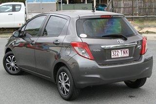 2013 Toyota Yaris NCP130R YR Grey 5 Speed Manual Hatchback.