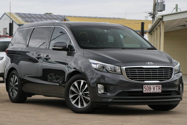 Used Kia Carnival YP MY16 SLi, 2015 Kia Carnival YP MY16 SLi Platinum Graphite 6 Speed Sports Automatic Wagon