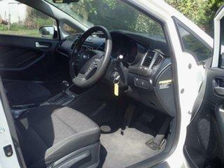 2015 Kia Cerato YD MY16 S White 6 Speed Manual Hatchback