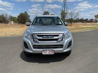 2019 Isuzu D-MAX MY19 SX Titanium Silver 6 Speed Sports Automatic Cab Chassis.