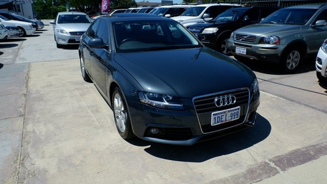 Used Audi A4 B8 8K Multitronic, 2008 Audi A4 B8 8K Multitronic Grey 8 Speed Constant Variable Sedan