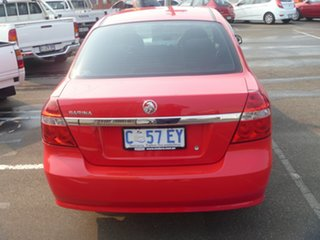 2008 Holden Barina TK MY08 Red 5 Speed Manual Sedan