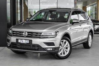 2019 Volkswagen Tiguan 5N MY19.5 132TSI Comfortline DSG 4MOTION Allspace Silver 7 Speed.