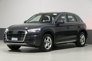 2018 Audi Q5 FY MY18 2.0 TDI Quattro Design Grey 7 Speed Auto S-Tronic Wagon.