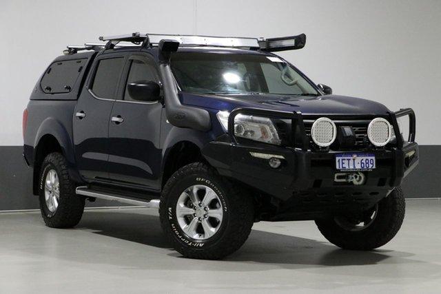 Used Nissan Navara NP300 D23 ST (4x4), 2015 Nissan Navara NP300 D23 ST (4x4) Blue 6 Speed Manual Dual Cab Utility