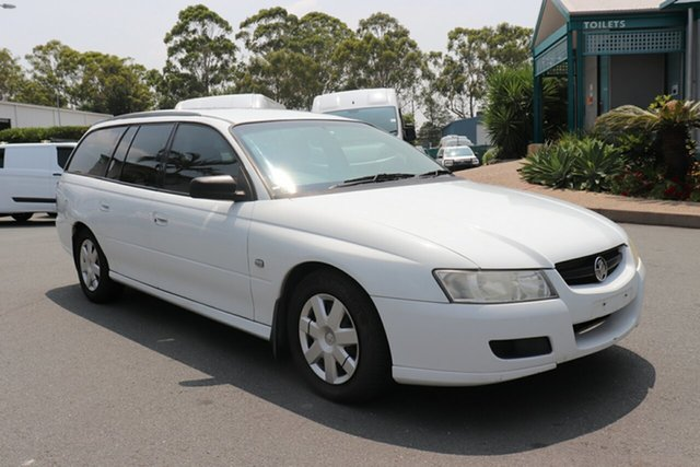 Used Holden Commodore VZ MY06 Executive, 2006 Holden Commodore VZ MY06 Executive White 4 speed Automatic Wagon