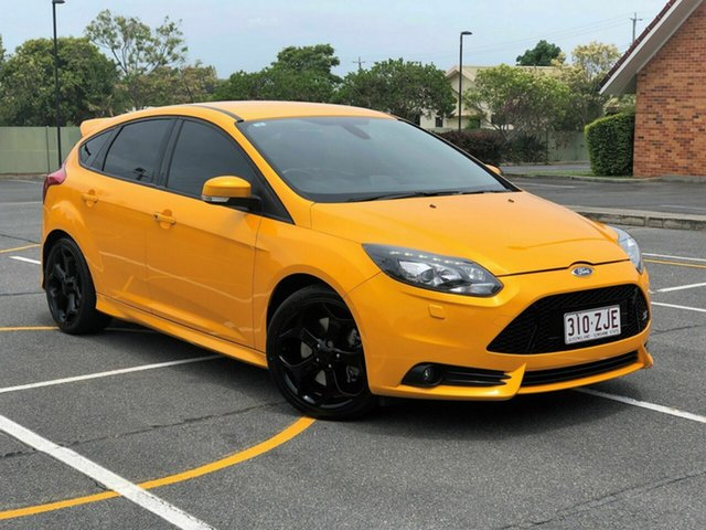 Used Ford Focus LW MkII ST, 2013 Ford Focus LW MkII ST Yellow 6 Speed Manual Hatchback