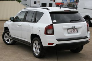 2013 Jeep Compass MK MY14 Sport White 6 Speed Sports Automatic Wagon.