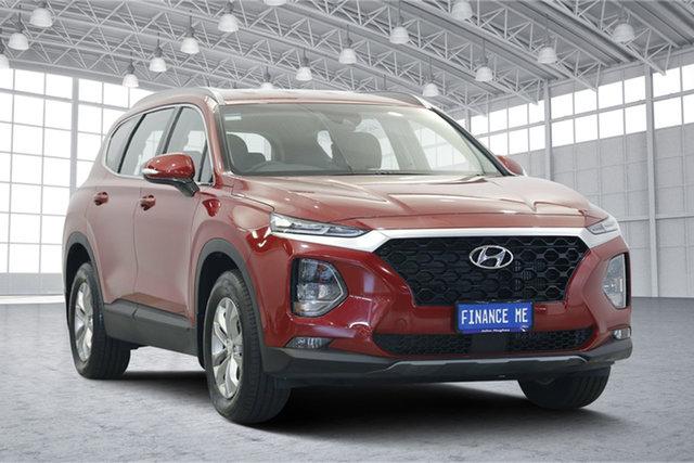 Used Hyundai Santa Fe TM MY19 Active, 2019 Hyundai Santa Fe TM MY19 Active Red 8 Speed Sports Automatic Wagon