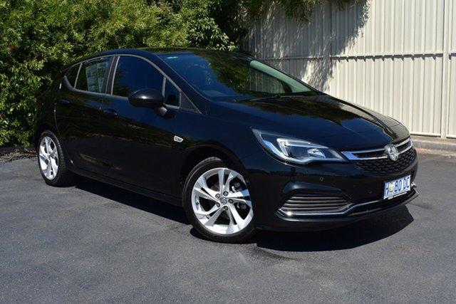 Used Holden Astra BK MY17 RS, 2016 Holden Astra BK MY17 RS Mineral Black 6 Speed Manual Hatchback