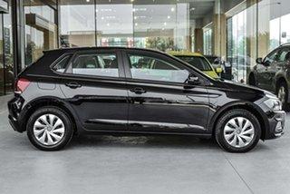 2019 Volkswagen Polo AW MY19 70TSI DSG Trendline Black 7 Speed Sports Automatic Dual Clutch