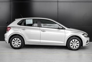 2019 Volkswagen Polo AW MY19 70TSI DSG Trendline Silver 7 Speed Sports Automatic Dual Clutch