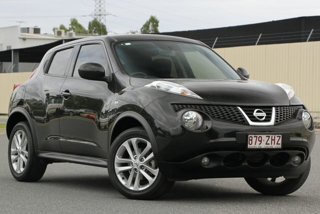 Used Nissan Juke F15 MY14 ST 2WD, 2014 Nissan Juke F15 MY14 ST 2WD Black 1 Speed Constant Variable Hatchback