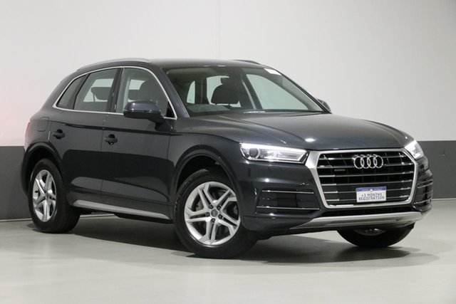 Used Audi Q5 FY MY18 2.0 TDI Quattro Design, 2018 Audi Q5 FY MY18 2.0 TDI Quattro Design Grey 7 Speed Auto S-Tronic Wagon