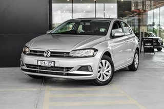 2019 Volkswagen Polo AW MY19 70TSI DSG Trendline Silver 7 Speed Sports Automatic Dual Clutch.