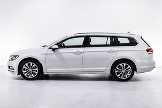 2019 Volkswagen Passat 3C (B8) MY19 132TSI DSG White 7 Speed Sports Automatic Dual Clutch Wagon