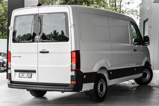 2019 Volkswagen Crafter SY1 MY19 35 MWB FWD TDI340 White 8 Speed Automatic Van.