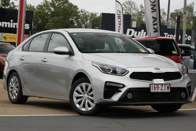 Used Kia Cerato BD MY20 S, 2019 Kia Cerato BD MY20 S Silky Silver 6 Speed Sports Automatic Sedan