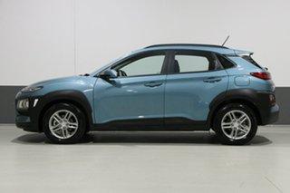 2018 Hyundai Kona OS Active (FWD) Green 6 Speed Automatic Wagon