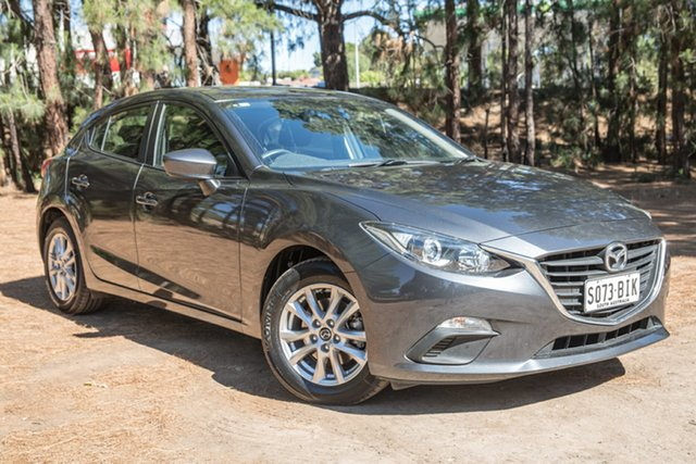 Used Mazda 3 BM5478 Neo SKYACTIV-Drive, 2015 Mazda 3 BM5478 Neo SKYACTIV-Drive Dark Grey 6 Speed Sports Automatic Hatchback