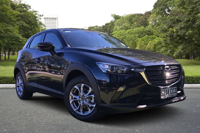 Demo Mazda CX-3 DK2W7A Maxx SKYACTIV-Drive FWD Sport, 2019 Mazda CX-3 DK2W7A Maxx SKYACTIV-Drive FWD Sport Jet Black 6 Speed Sports Automatic Wagon