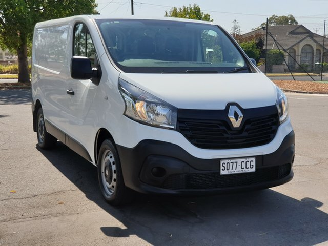 Used Renault Trafic X82 66KW Low Roof SWB, 2017 Renault Trafic X82 66KW Low Roof SWB White 6 Speed Manual Van