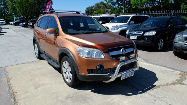 Used Holden Captiva CG MY08 LX AWD, 2007 Holden Captiva CG MY08 LX AWD Orange 5 Speed Sports Automatic Wagon