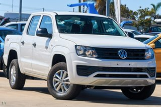 2019 Volkswagen Amarok 2H MY19 TDI420 4MOTION Perm Core White 8 Speed Automatic Utility.