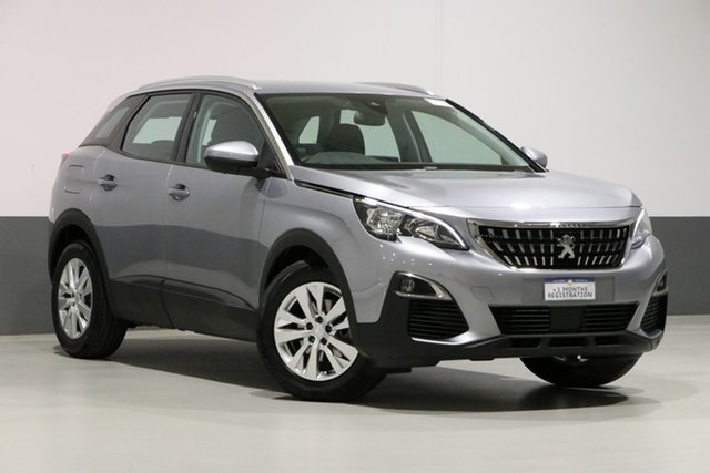Used Peugeot 3008 P84 MY18.5 Active, 2018 Peugeot 3008 P84 MY18.5 Active Grey 6 Speed Automatic Wagon
