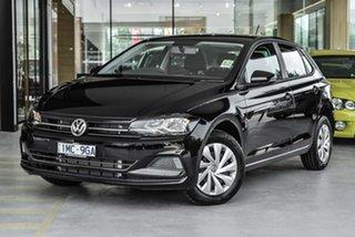 2019 Volkswagen Polo AW MY19 70TSI DSG Trendline Black 7 Speed Sports Automatic Dual Clutch.