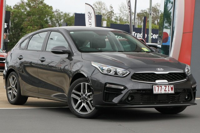 Used Kia Cerato BD MY20 Sport+, 2019 Kia Cerato BD MY20 Sport+ Platinum Graphite 6 Speed Sports Automatic Hatchback