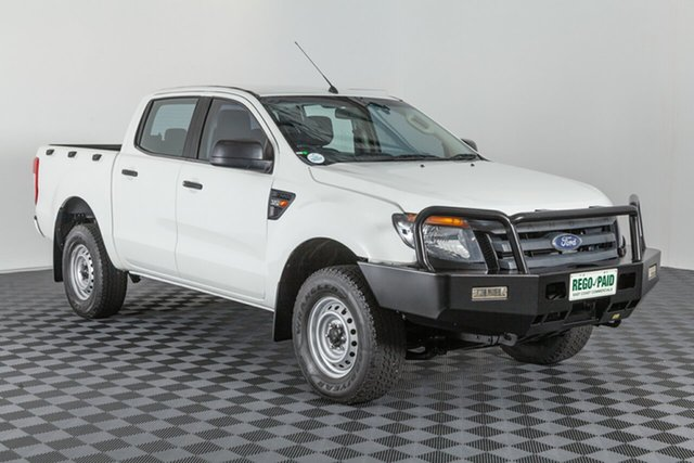 Used Ford Ranger PX XL Double Cab, 2012 Ford Ranger PX XL Double Cab White 6 speed Automatic Utility