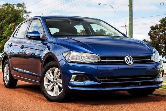 Demo Volkswagen Polo AW MY19 85TSI DSG Comfortline, 2019 Volkswagen Polo AW MY19 85TSI DSG Comfortline Blue 7 Speed Sports Automatic Dual Clutch