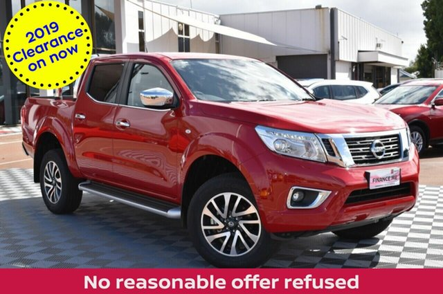 New Nissan Navara D23 S3 ST, 2019 Nissan Navara D23 S3 ST Burning Red 7 Speed Sports Automatic Utility