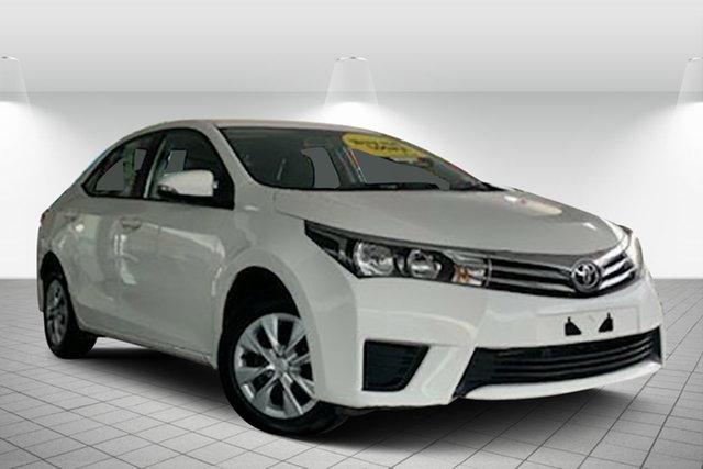 Used Toyota Corolla ZRE172R Ascent S-CVT, 2015 Toyota Corolla ZRE172R Ascent S-CVT White 7 Speed Constant Variable Sedan