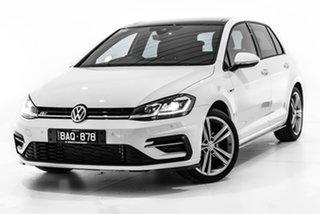 2019 Volkswagen Golf 7.5 MY20 110TSI DSG Highline White 7 Speed Sports Automatic Dual Clutch.