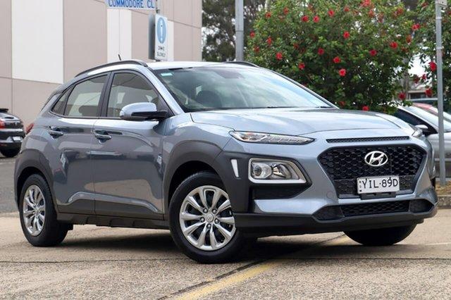 Demo Hyundai Kona OS.3 MY20 Go 2WD, 2019 Hyundai Kona OS.3 MY20 Go 2WD Lake Silver 6 Speed Sports Automatic Wagon