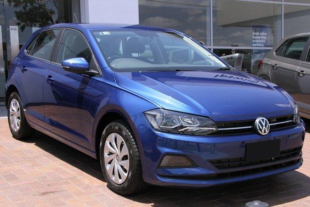 Demo Volkswagen Polo AW MY19 70TSI DSG Trendline, 2019 Volkswagen Polo AW MY19 70TSI DSG Trendline Reef Blue Metallic 7 Speed
