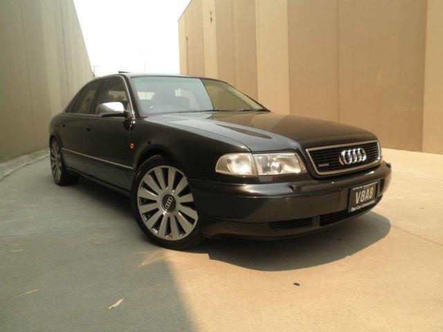 Used Audi A8 D2 Quattro, 1997 Audi A8 D2 Quattro Black 5 Speed Sports Automatic Sedan