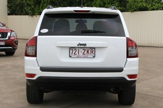 2013 Jeep Compass MK MY14 Sport White 6 Speed Sports Automatic Wagon