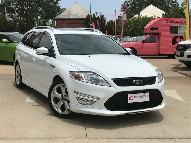 Used Ford Mondeo MB MY11 Titanium PwrShift TDCi, 2010 Ford Mondeo MB MY11 Titanium PwrShift TDCi White 6 Speed Sports Automatic Dual Clutch Wagon