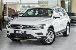 2019 Volkswagen Tiguan 5N MY20 110TSI DSG 2WD Comfortline White 6 Speed Sports Automatic Dual Clutch.