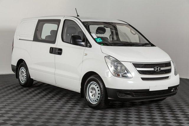Used Hyundai iLOAD TQ2-V MY14 Crew Cab, 2014 Hyundai iLOAD TQ2-V MY14 Crew Cab White 5 speed Automatic Van
